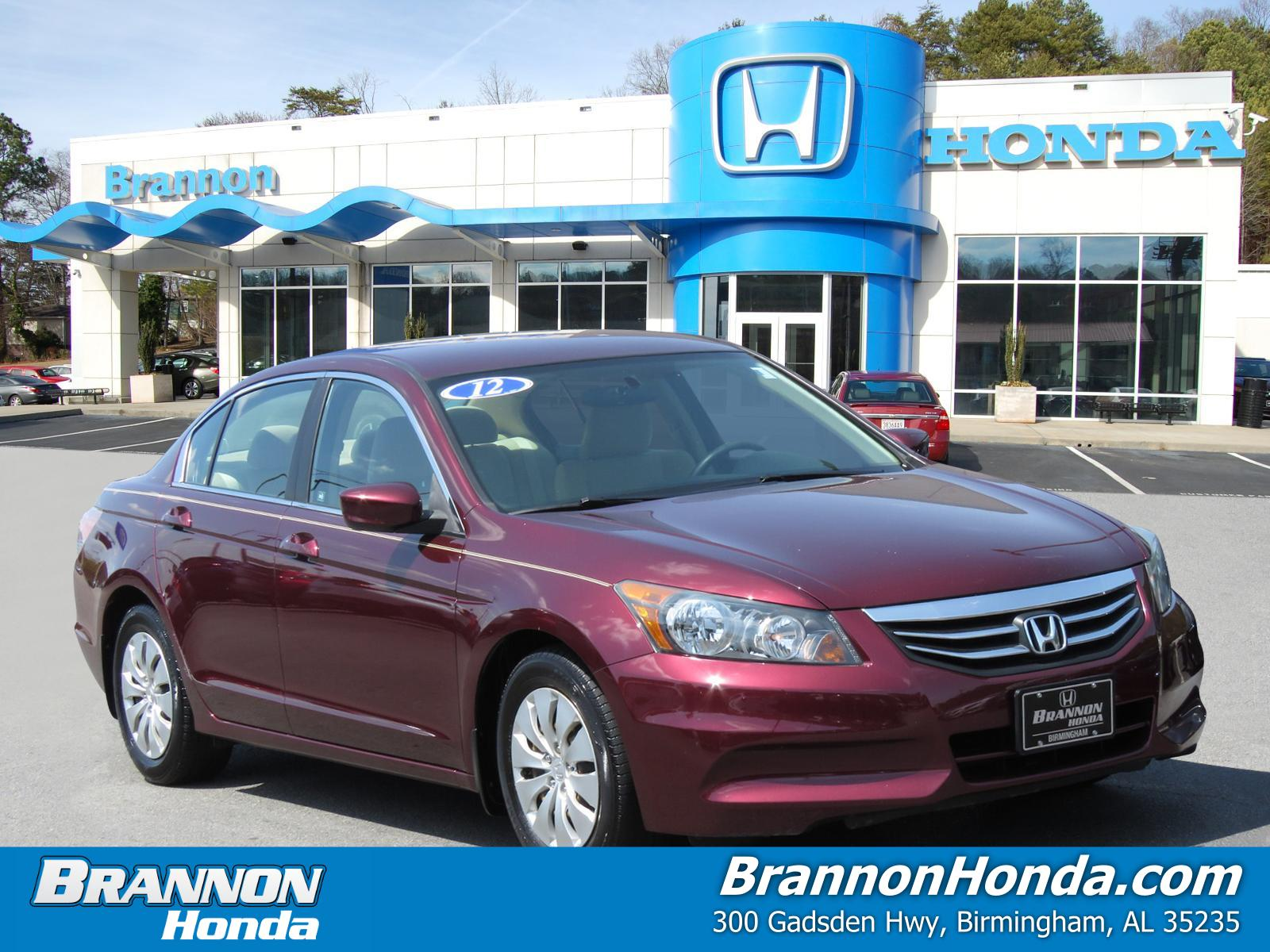 Pre-Owned 2012 Honda Accord Sdn 4dr I4 Auto LX