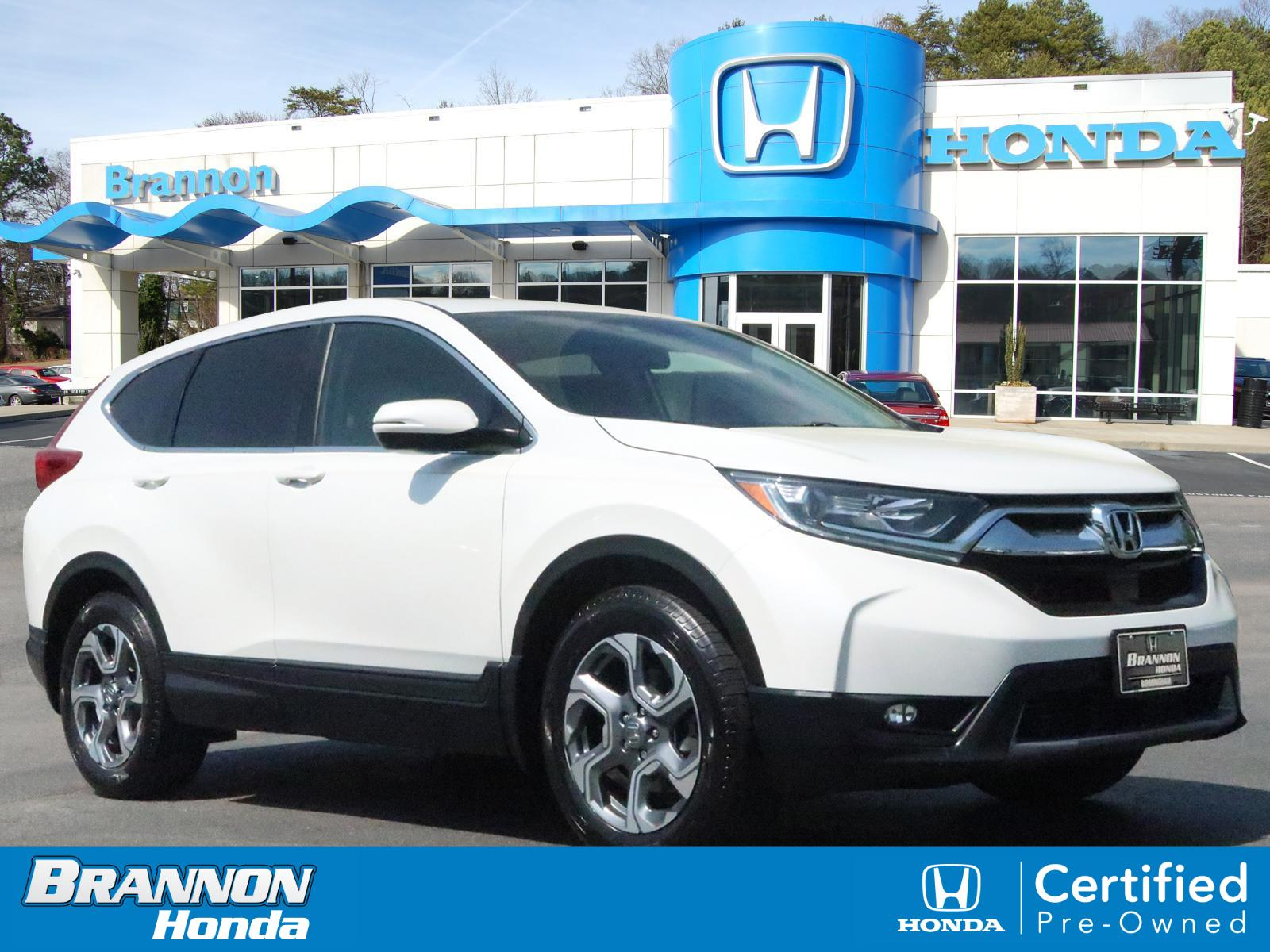 Certified Pre-Owned 2018 Honda CR-V EX-L 2WD