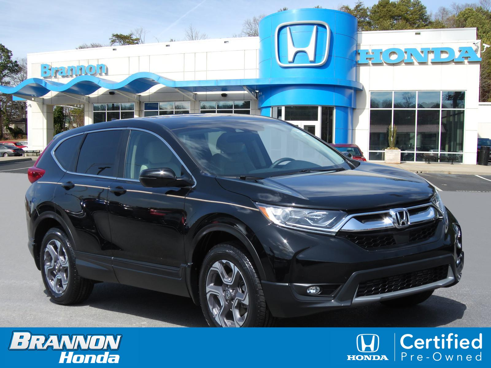 Certified Pre-Owned 2018 Honda CR-V EX AWD