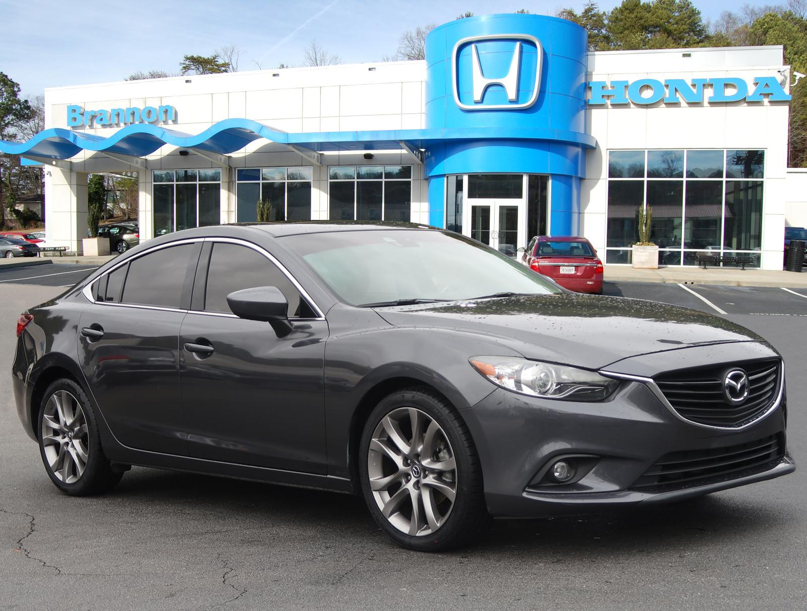 Pre-Owned 2015 MAZDA Mazda6 4dr Sdn Auto i Grand Touring