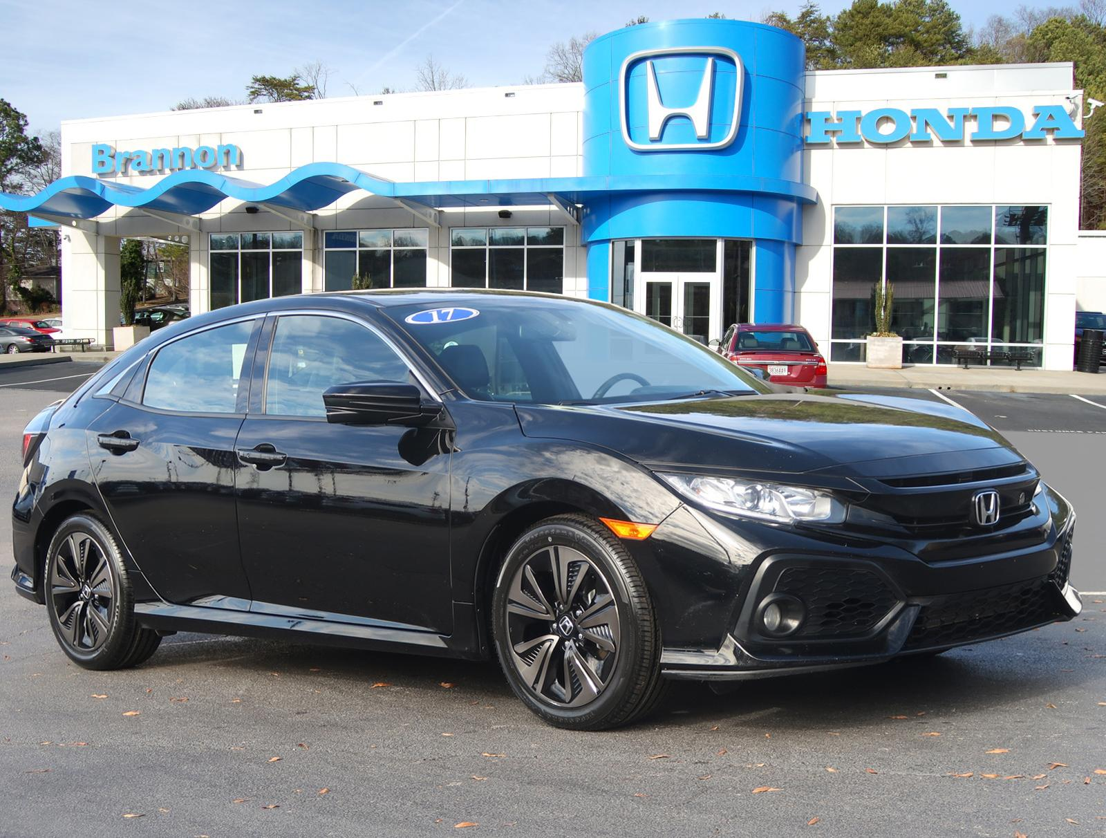 Certified Pre-Owned 2017 Honda Civic Hatchback EX-L Navi CVT