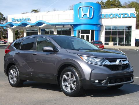 Certified Pre-Owned 2017 Honda CR-V EX-L 2WD