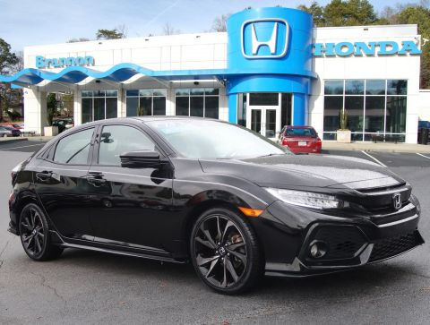 Certified Pre-Owned 2018 Honda Civic Hatchback Sport Touring CVT